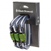 Black Diamond Positron Screwgate Carbiner 3-Pack
