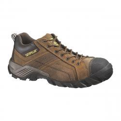 CAT Men's Composite Toe Work Shoes - Brown, 8.5