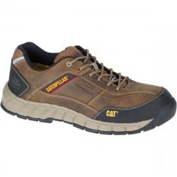 CATERPILLAR Men's Streamline Composite Toe Work Shoes, Dark Beige - Brown, 11.5