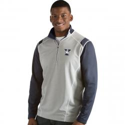 Yale Men's Automatic 1/4 Zip Long-Sleeve Pullover - Blue, XL