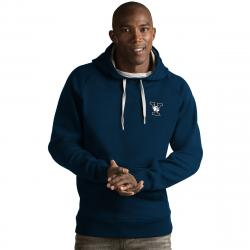 Yale Men's Victory Pullover Hoodie - Blue, XL