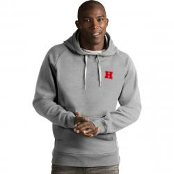 Harvard Men's Victory Pullover Hoodie - Black, XL