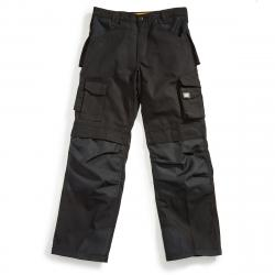 CAT Men's Trademark Multi Pocket Utility Pants - Black, 32/30