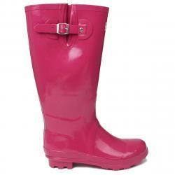 Kangol Women's Tall Rain Boots - Purple, 10