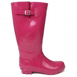 Kangol Women's Tall Rain Boots - Purple, 5