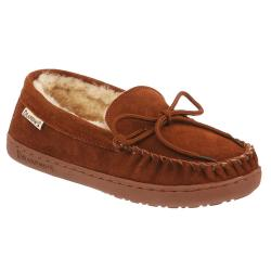 Bearpaw Women's Mindy Moccasin Slippers - Brown, 6