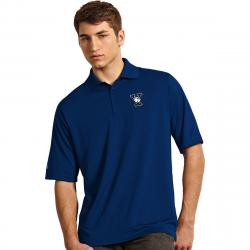 Yale Men's Exceed Short-Sleeve Polo Shirt - Blue, M