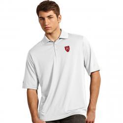 Harvard Men's Exceed Short-Sleeve Polo Shirt - White, L