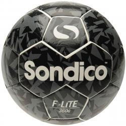 Sondico Flair Lite Soccer Ball - White, 4