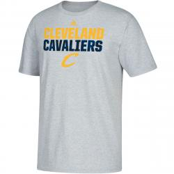 Cleveland Cavaliers Men's Heather Short-Sleeve Tee - Black, M