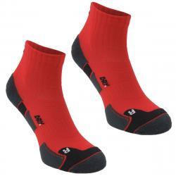 Karrimor Men's Dri Skin Running Socks, 2 Pack - Red, 13+