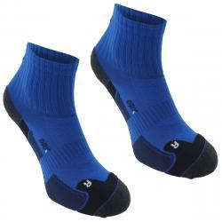 Karrimor Men's Dri Skin Running Socks, 2 Pack - Blue, 13+