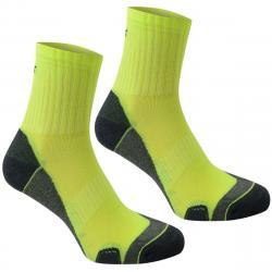 Karrimor Men's Dri Skin Running Socks, 2 Pack - Yellow, 8-12