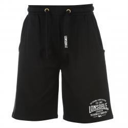 Lonsdale Men's Box Lightweight Shorts - Black, L