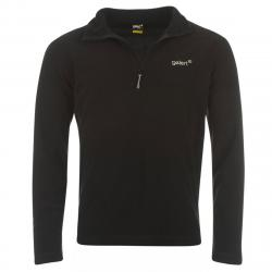 Gelert Men's Atlantis Microfleece Quarter Zip Pullover - Black, S