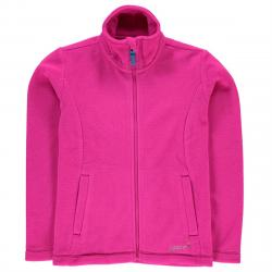 Gelert Girls' Ottawa Fleece Jacket - Red, 7-8X