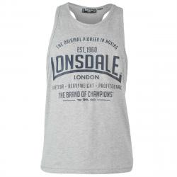 Lonsdale Men's Boxing Tank Top - Black, 4XL