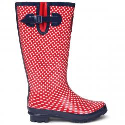 Requisite Women's Spot Tall Rain Boots - Red, 5