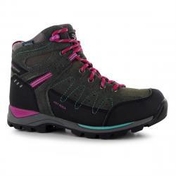 Karrimor Big Kids' Hot Rock Waterproof Mid Hiking Boots - Various Patterns, 5