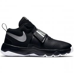 Nike Boys' Team Hustle D8 Basketball Shoes - Black, 4.5