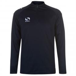 Sondico Men's Long-Sleeve Mid Layer Top - Blue, XXL