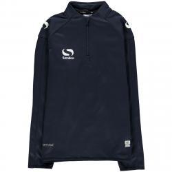Sondico Boys' Long-Sleeve Mid Layer Top - Blue, 9-10