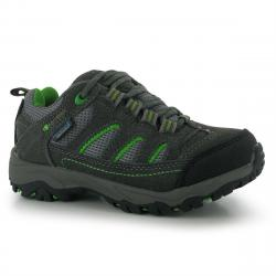 Karrimor Kids' Mount Low Waterproof Hiking Shoes - Various Patterns, 1