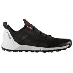 Adidas Women's Terrex Agravic Speed Trail Running Shoes, Black/white