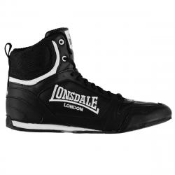 Lonsdale Men's Boxing Boots - Black, 10