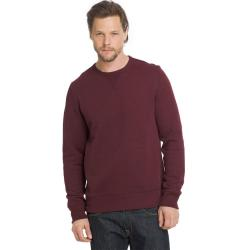 G.h. Bass & Co. Men's Sueded Mountain Fleece Long-Sleeve Pullover - Red, M