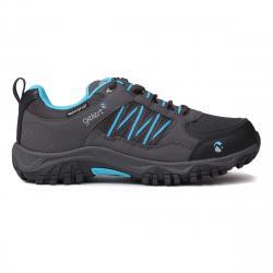 Gelert Kids' Horizon Low Waterproof Hiking Shoes - Black, 4