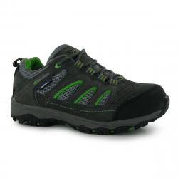Karrimor Big Kids' Mount Waterproof Low Hiking Shoes - Various Patterns, 6