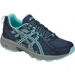 Asics Big Girls' Gel-Venture 6 Gs Running Shoes - Blue, 6