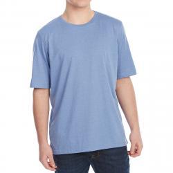 Rugged Trails Men's Jersey Crewneck Short-Sleeve Tee - Blue, L