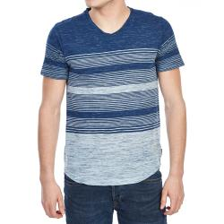 Ocean Current Guys' Ollie Textured V-Neck Tee
