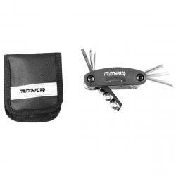 Muddyfox Bike Multi Tool Pack - Black, ONESIZE