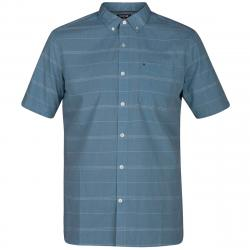 Hurley Men's Dri-Fit Rhythm Short-Sleeve Shirt - Green, S