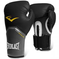 Everlast Elite Training Boxing Gloves - Black, 12 OZ