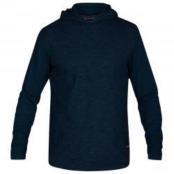 Hurley Men's Dri-Fit Lagos Pullover Hoodie - Blue, S