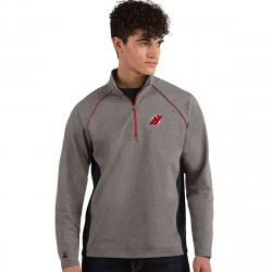 New Jersey Devils Men's Stamina Quarter Zip Pullover - Black, M