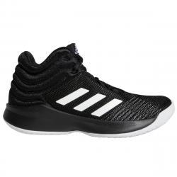 Adidas Boys' Pro Spark 2018 Basketball Shoes - Black, 4