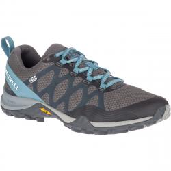 Merrell Women's Siren 3 Waterproof Low Hiking Shoes - Blue, 6