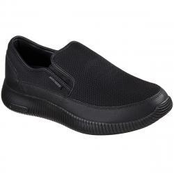 Skechers Men's Depth Charge Flish Walking Shoes - Black, 8.5