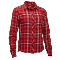 Ems Women's Since  '67 Flannel Shirt - Red, L