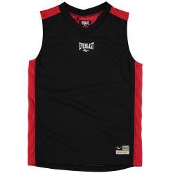 Everlast Boys' Basketball Jersey - Black, 11-12