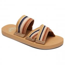Roxy Women's Shoreside Criss-Cross Sandals - Various Patterns, 6