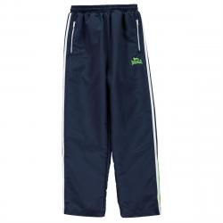 Lonsdale Boys' Two-Stripe Open-Hem Woven Pants - Blue, 9-10