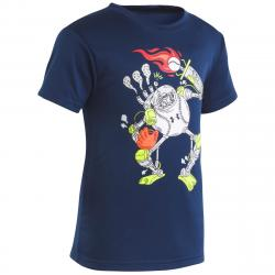 Under Armour Boys' Baseball Robot T-Shirt - Blue, 5