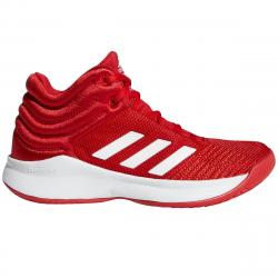 Adidas Boys' Pro Spark 2018 Basketball Shoes - Red, 5