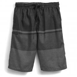 Burnside Men's Empire Boardshorts - Black, S
